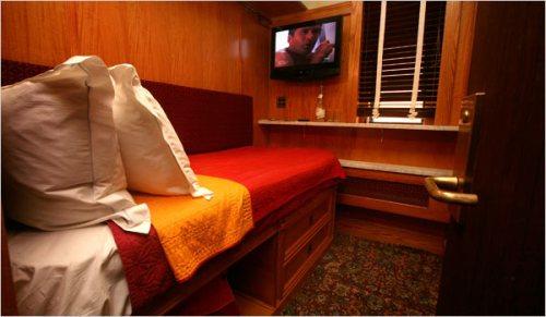 La chambre la plus petite de New York est au Jane Hotel